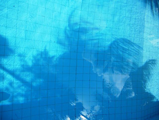 a zwembad blauw 2 ws